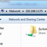 Deljenje foldera i fajlova na mreži - kako