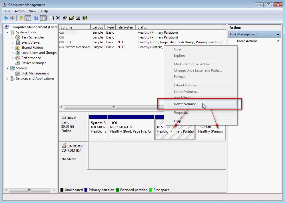 Kako deintalirati Linuks iz dual-boot rezima sa Vindovsom 03