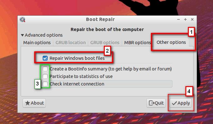 Kako deintalirati Linux iz dual-boot rezima sa Windowsom 16