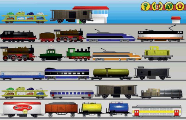GCompris Železnica