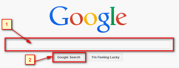 1) Google google google google 2) Google google