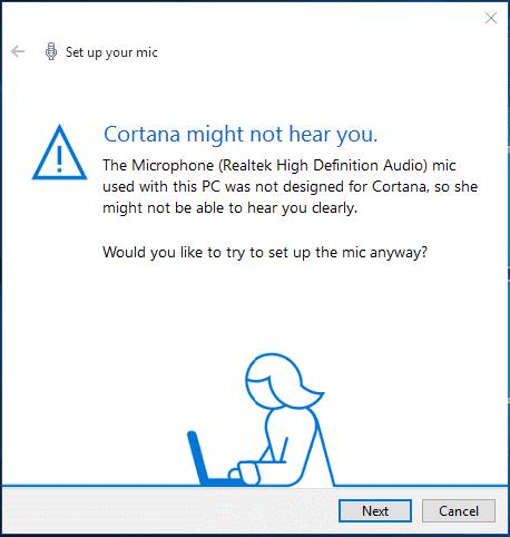 A tu je izgleda i zahtev da kupim neki laptop koji će da podržava ovu Cortanu...ma moreeee