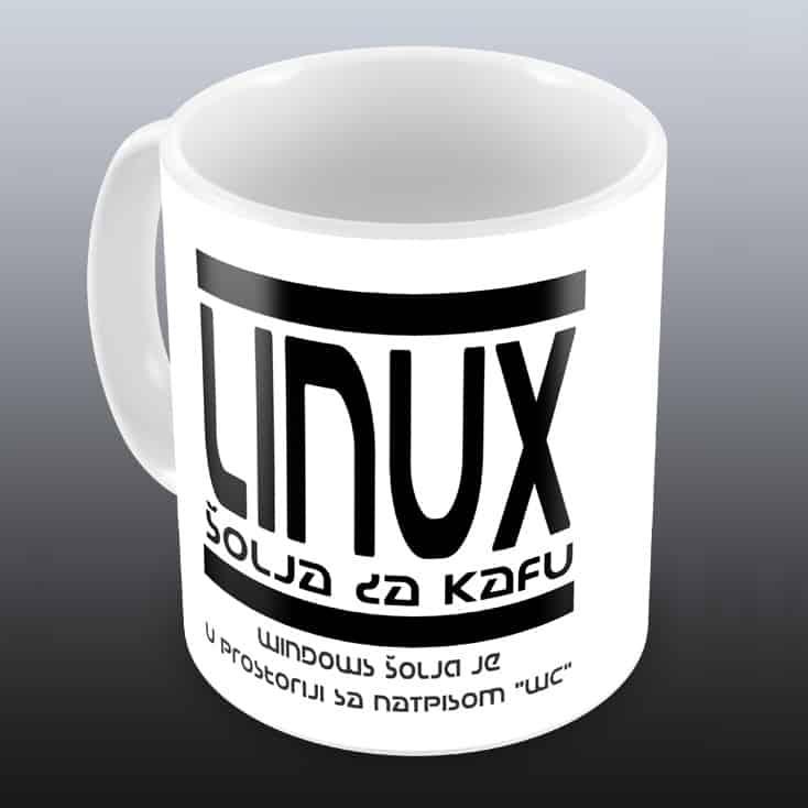 Linux šolja za kafu