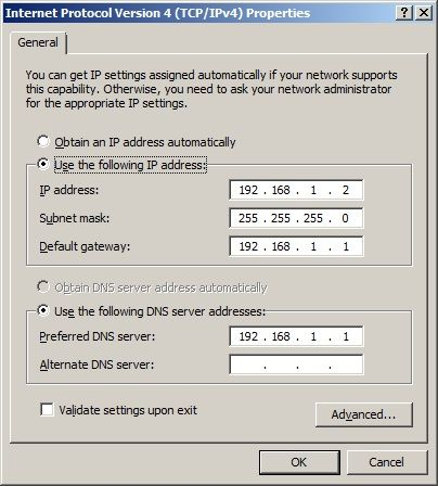 Pre iniciranja same instalacije moramo proveriti da li smo serveru dodeli statičku IP adresu. Ukoliko nismo neophodno je to uraditi.