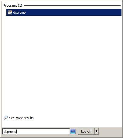 """Proces AD DS instalacije iniciramo naredbom """"dcpromo"""". Ovaj postupak možemo pokrenuti i iz 'Service Manager' konzole dodavanjem serveru AD DS role."""