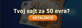 Izrada sajta za 50 evra by Kompjuteras.com